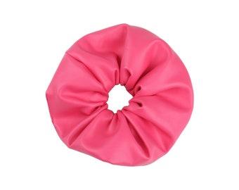 It's heaband | PVC Scrunchie | Pink PVC | Faux | Hair Scrunchie | Scrunchie for Women & Girls