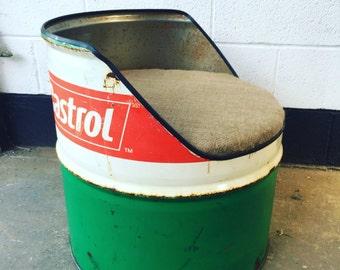 Custom Oil Drum Chair