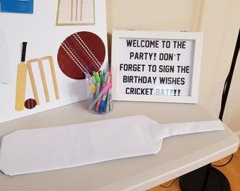Cricket Bat Guest Sign In