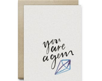 You are a Gem Greeting Card