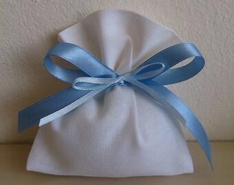 Set of 20 Bags linen-wedding favors