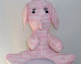 Stuffed pink elephant