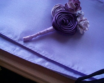 Amethyst And Fresco Boutonniere