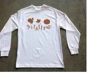 Pumpkin Patch shirts | It's Fall Y'all | Fall shirts | t-shirts