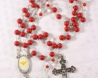 Swarovski Confirmation Rosary - Customizable