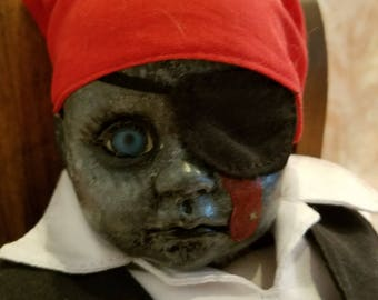 Zombie Pirate Doll