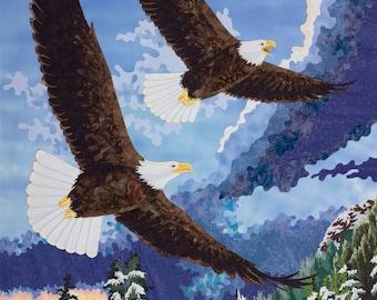 Bald Eagles Fine Art Print by Kestrel Michaud