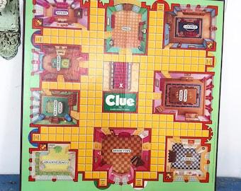 Vintage Clue Board Game 1992