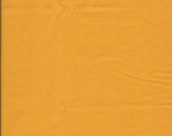 "New Yellow Gold Solid 100% Cotton Fabric 1 yard 5"" x 44"" Piece"