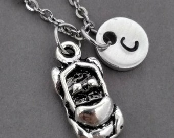 Car Necklace, Convertible Necklace, Car Jewelry, Gift for New Driver, Automobile Jewelry, Initial Necklace, Personalized Jewelry