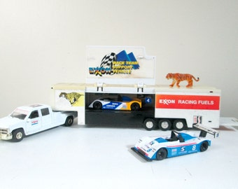 Exxon Truck Diecast Race Cars / World Sportscar Championship / Racing Collectible