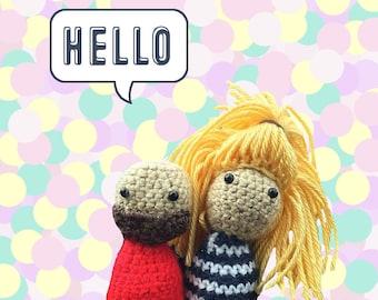 Crochet Amigurumi Portrait Doll