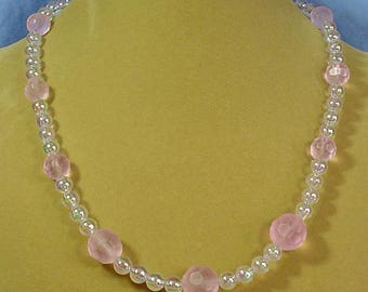 """20"""" of Delicate Pink and Irridescense - N470"""