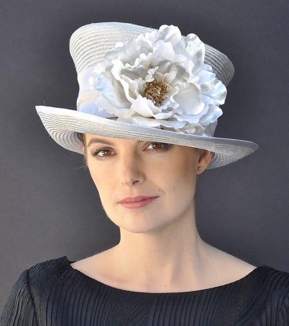 Wedding Hat, Kentucky Derby Hat, Formal hat, Church hat, Ascot hat, Occasion hat, Derby hat, mother of bride hat