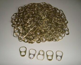Aluminio grande 150 Pull Tabs Color oro color