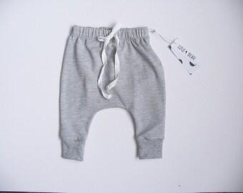 Ready to ship baby harem pants boy harem pants, girl harem pants, baby boy harem pants, baby girl harem pants, baby pants, organic bamboo fa