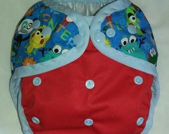 Monster Pocket diaper