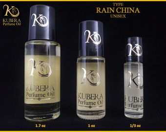 Type Rain China perfume in oil for both 1/3oz 1oz 1.7oz