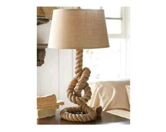 Superb Design Rope Lamp, Table Lamp, Special Make Lamp, Lamp