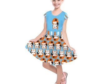 david BOWIE kid dress