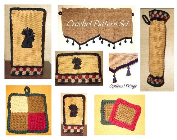 Kitchen Crochet Rooster Crochet Kitchen Pattern Appliance Cover