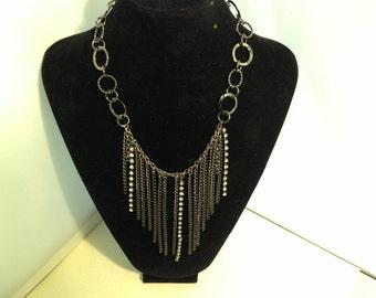 Gunmetal Chain Necklace 148