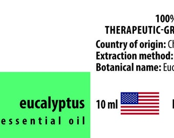Eucalyptus 100% Pure Essential Oil from China