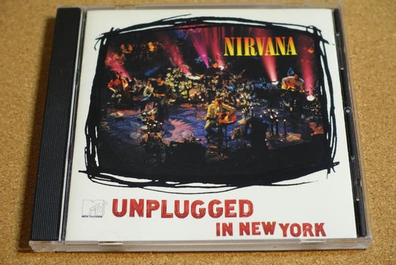 MTV Unplugged In New York by Nirvana Vintage Compact Disc CD