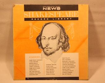 "Vintage Vinyl Record (Shakespeare Record Library)""Hamlet"""