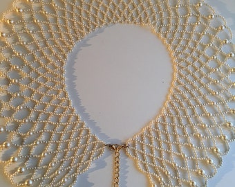 Beaded Necklace Collar