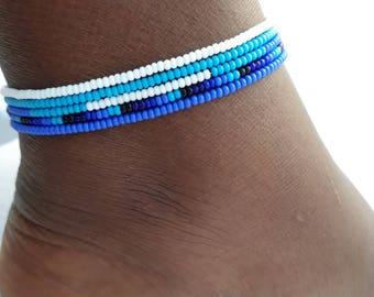 Ankle bracelet,bridal anklet, beach anklet, anklets for women,women's anklet,buy anklet,beaded ankle bracelet, womens ankle bracelets