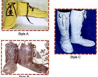 Keltoi, Mukluk, Highlander Moccasin Boot Sewing Pattern - Great for SCA, Highlander or Historic Re-enactment