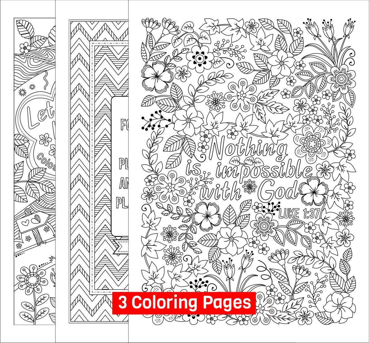 3 Printable Bible Coloring Pages for Grown-ups Colossians