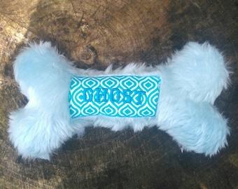 Dog Toy - Dog Bone - Birthday Dog Toy -  Clothing Gift - Personalized Dog Toy - Personalized Toy - Dog Birthday Gift - Dog Birthday