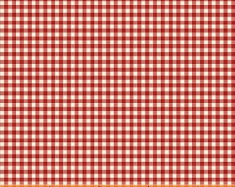 Little Red Riding Hood, 50303-4,  Red Gingham Cotton Woven fabric