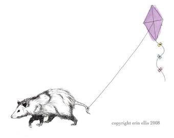Possum 8x10 Print