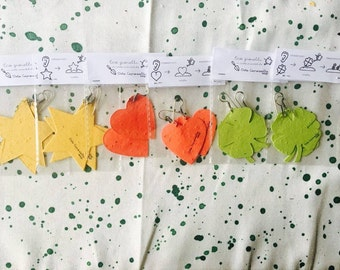Plantable Paper Jewelry