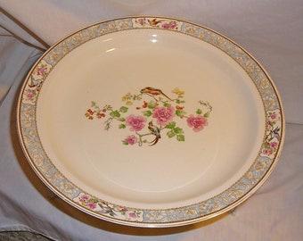 W H GRINDLEY ' England Crest' Style Round Platter