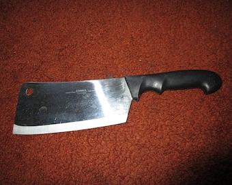 Cobra Six Inch Stainless Steel Cleaver