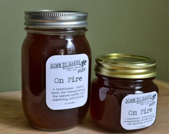 On Fire - a traditional herbal remedy