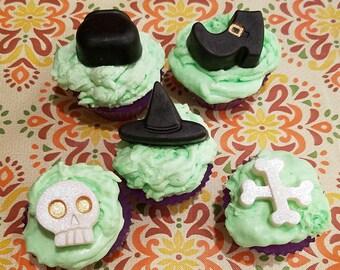 Halloween Cupcake Soap, Dessert Soap, Farmhouse Cider cupcake, cupcake soap, food soap, fun soap, gift idea, glycerin soap, Bakery Soap.