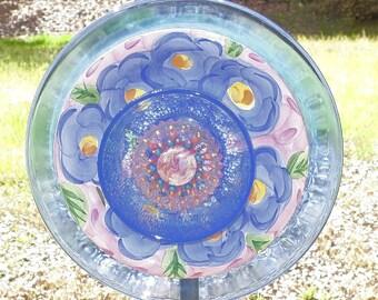 Glass Garden Flower.....Periwinkle