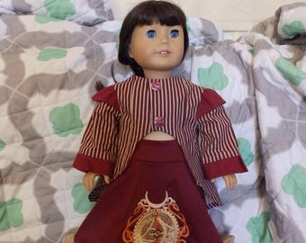 """American Girl 18"""" Doll Clothes-2 Piece """"Steampunk"""" Skirt Outfit"""
