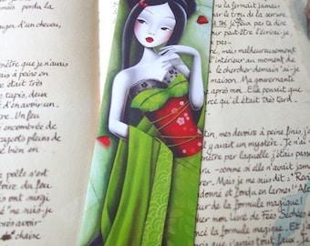 Bookmark miss coquelicot
