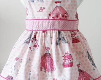 fancy baby 6 months - handmade - unique dress - dress fashion dress