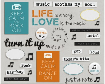 Turn It Up - Word Art & Titles for Digital Scrapbooking