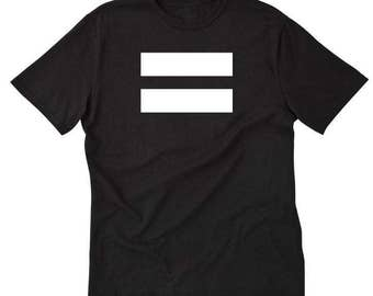 Equality T-shirt Feminism Feminist Gay Rights Human Right Equality Funny Gift Tee Shirt