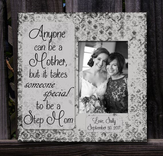 Wedding Gift For Bride From Mother: Step Mom Gift Personalized Wedding Gift Mother Of The Bride