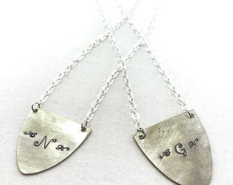 Spoon monogrammed necklace... customizable necklace with initial on it... up cycled spoon jewelry... vintage spoons made into necklaces