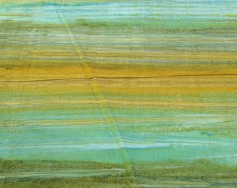 Los Cabos-Jungle Green and Yellow Batik Cotton Fabric from Moda